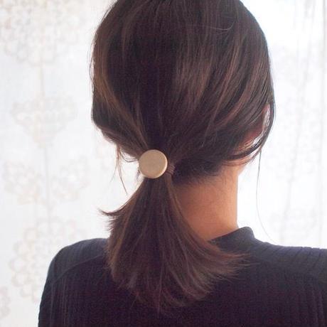 Hair accessory ポニーフック (Circle)