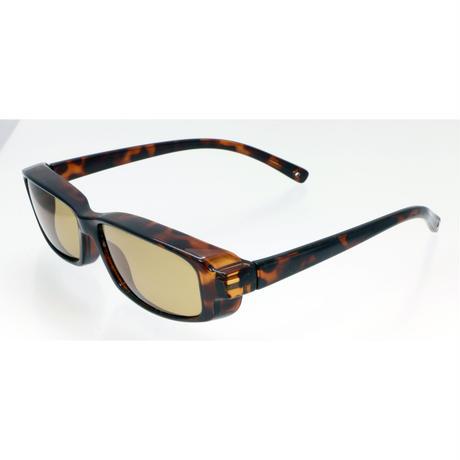 ☆スリムなメガネにピッタリフィット/ZE-OG03L ジーロット 偏光オーバーグラス(スリム&2倍明るい偏光レンズ タイプ )