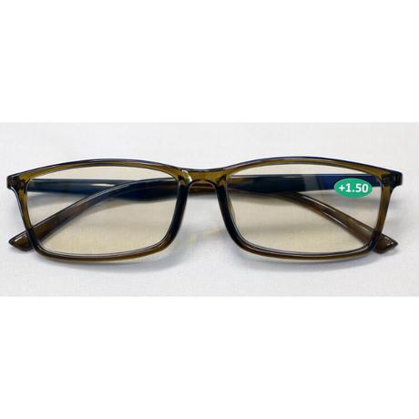 ☆洗練されたフレームとUV & Blue Cut 老眼レンズの組み合わせ/ ブルーカット老眼鏡