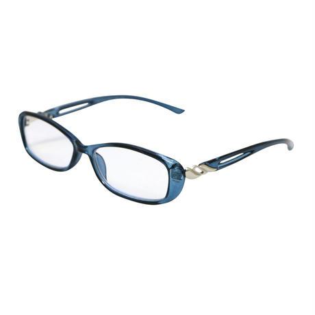 ☆オシャレなフレームとUV & Blue Cut 老眼レンズの組み合わせ/  27004PC  PC操作や野外作業にも安心な機能性シニアグラス