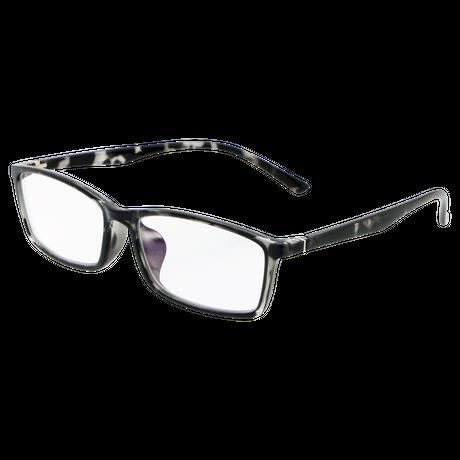 ☆色の濃いレンズが苦手な方に。透明レンズなのにUV&ブルーライトを大幅カット!/2801F ジーロット 機能性透明サングラス
