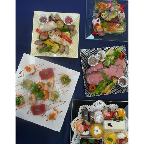 *福島駅西口エルティお渡し* パーティーセット「雅」~エルティのコース料理をご自宅で(お2人様分の金額となっております)~