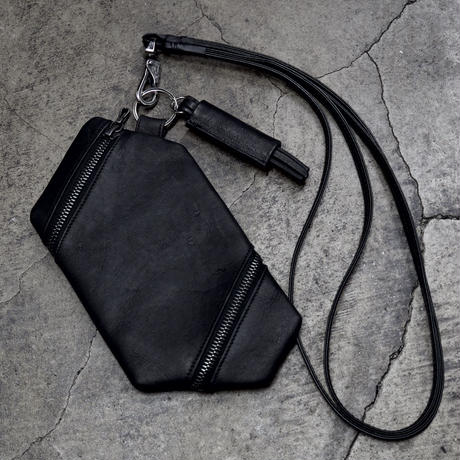 TWIST ZIP  NECK POUCH