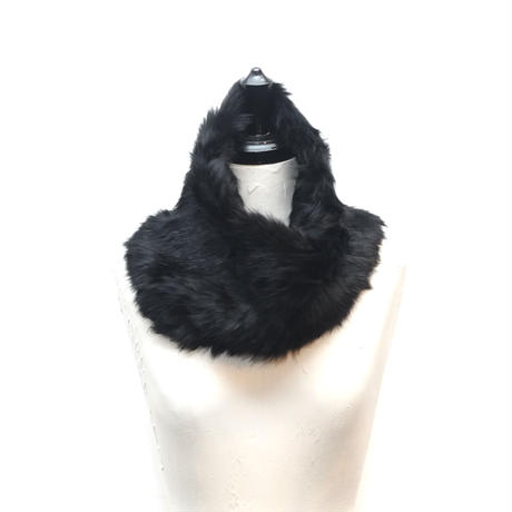 RABBIT FUR SNOOD