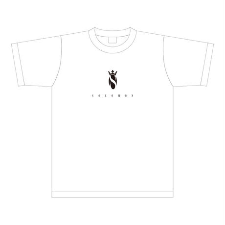 SOLOMON Logo T-Shirts(White)