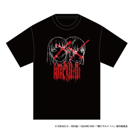 SOLOMON×賭ケグルイ××「桃喰リリカ T-Shirts」(BLK)