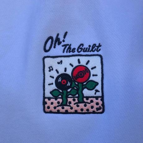 "Oh!theGuilt / 5el 006 ""MUSIC FLOWER"" HOOD  SWEAT (ホワイト)"
