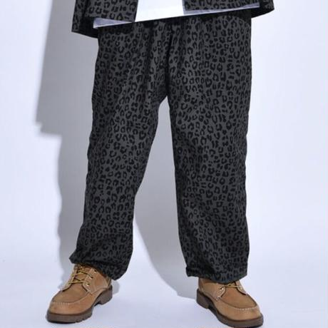 Oh!theGuilt / LEOPARD RELAX BEACH PANT Ⅲ (OLIVE)