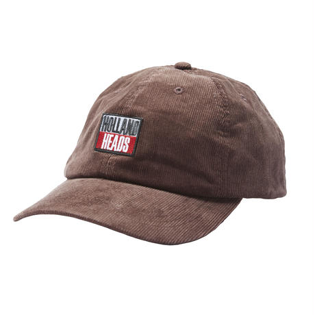 HOLE AND HOLLAND | HOLLAND HEADS CORD CAP (BROWN)