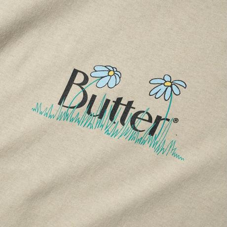 Butter Goods   Flower Classic Logo Tee(CREAM)