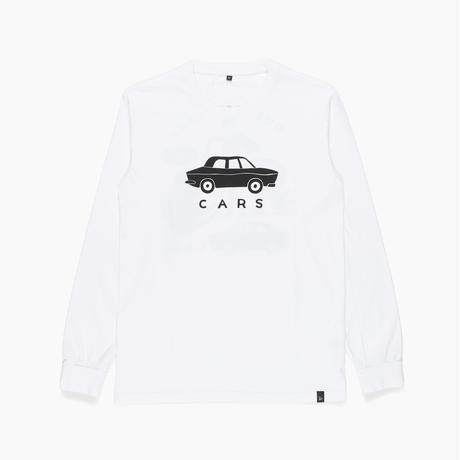 by Parra | longsleeve t-shirt gary's (white)