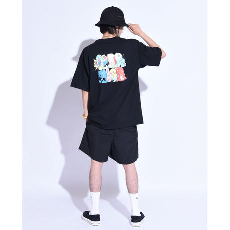"""Oh!theGuilt / Oh!theGuilt×WESO WIM 008 """"POP GROUP"""" S/S TEE (BLACK)"""