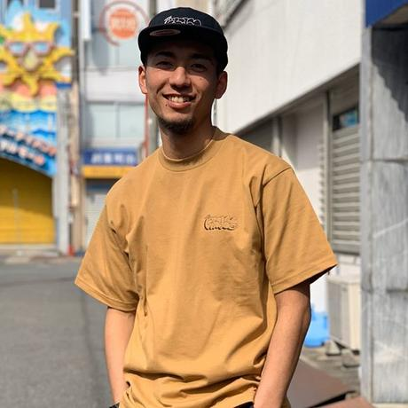 "Oh!theGuilt |  ""THROWUP"" S/S TEE (マスタード)"