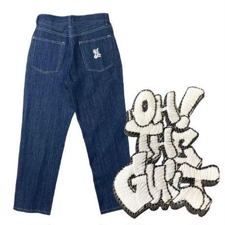 "Oh!theGuilt / ""THROW UP"" 5P DENIM PANT (BLUE)"