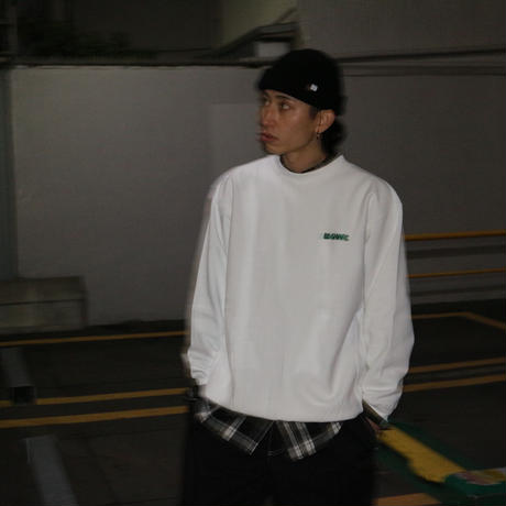 "Oh!theGuilt | THE BE-SHARE LIMITED ""FOR A CITY BOY"" CREWNECK SWEAT (CITY WHITE)"