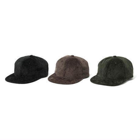 坩堝 | CORDUROY ARCH 6 PANEL CAP (BROWN)