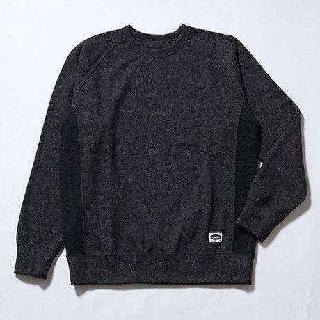Oh!theGuilt:SIDE PANEL SWEATER(ミックスチャコール)