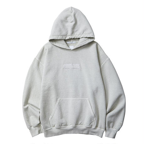 Liberaiders / GERMAN LOGO OVERDYED PULLOVER HOODIE (WHITE)