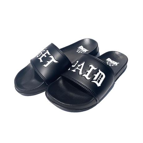 DGK   GET PAID SLIPPERS (BLACK)