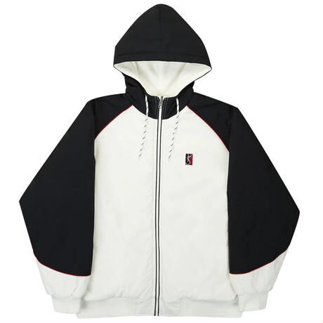 YARDSALE / Reversible Jacket (White/Black/Lilac)