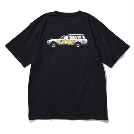 """Oh!theGuilt / Oh!theGuilt×WESO WIM 009 """"CROWN"""" S/S TEE (BLACK)"""
