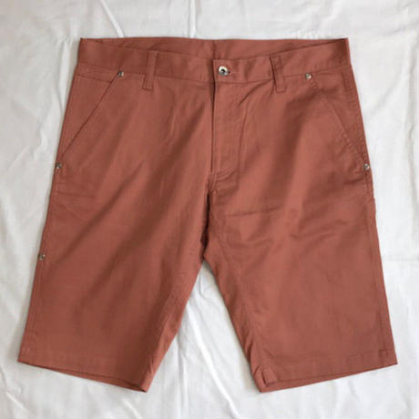 Oh!theGuilt : SLIM PAINTER SHORT PANT(ピンク)