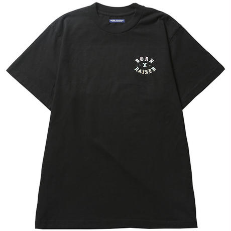 BORN X RAISED / ROCKER TEE (BLACK)