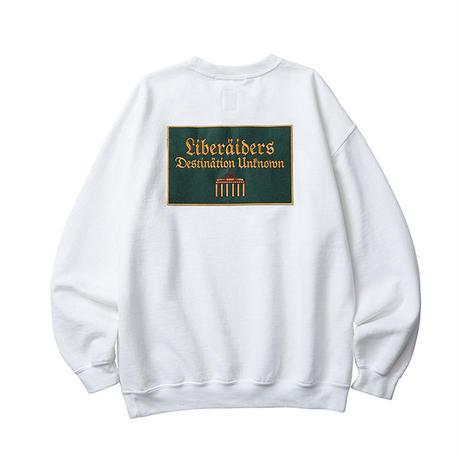 LIBERAIDERS / QUADRIGA SWEATSHIRT (WHITE)