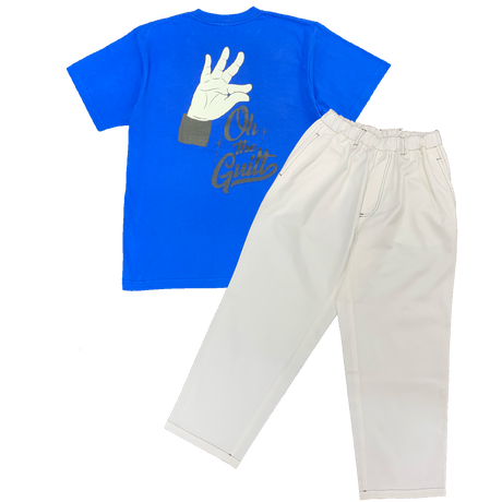 """timeforlivin' / Oh!theGuilt RECOMMEND SET (""""R.I.P"""" R.P S/S TEE+RELAX BEACH PANTS Ⅲ)"""
