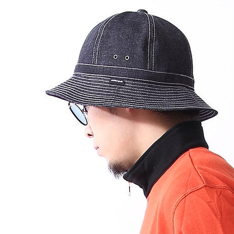 Oh!theGuilt | HAND MADE DENIM BALL HAT by BROWNIE HOME MADE (インディゴ)