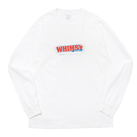 WHIMSY / PAY DAY L/S TEE (WHITE)