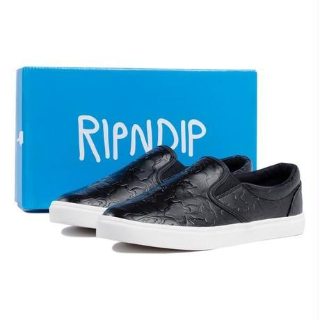 RIPNDIP |Black Out Camo Slip On (Black)