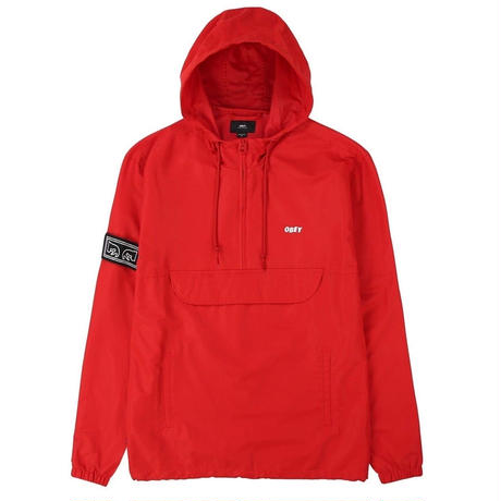 OBEY | Crosstown II Anorak (RED)