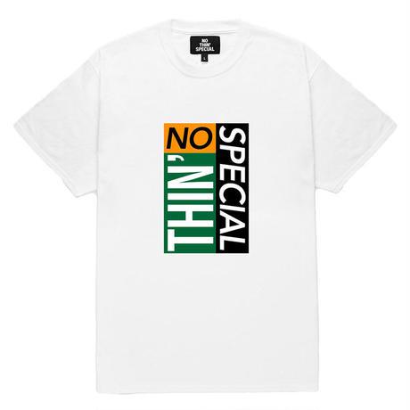 NOTHIN'SPECIAL / TILE LOGO TEE (WHITE)