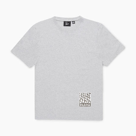 by Parra | static logo t-shirt (heater grey)