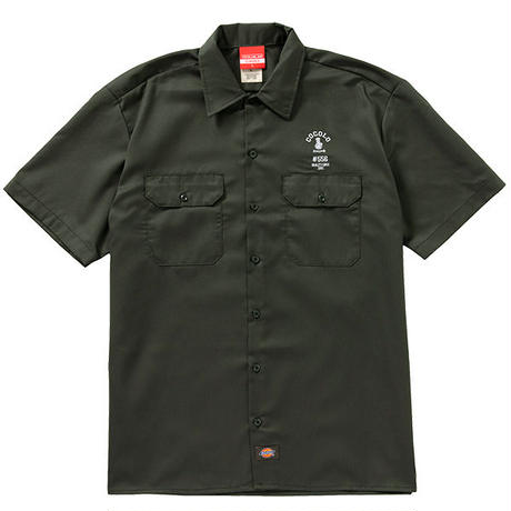 COCOLO BLAND / #556 WORK SHIRTS (OLIVE GREEN)