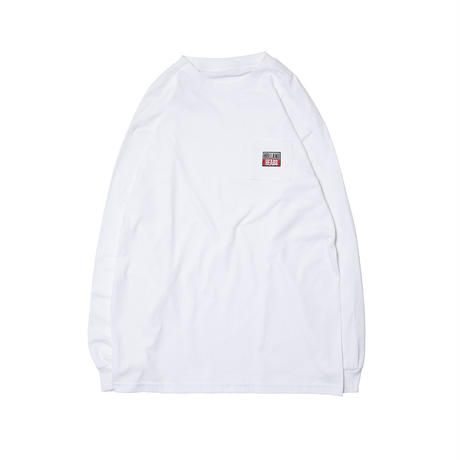HOLE AND HOLLAND | HOLLAND HEADS LS TEE (WHITE)