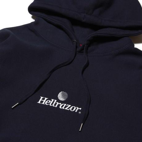 HELLRAZOR / TRADEMARK LOGO HOODIE (NAVY)