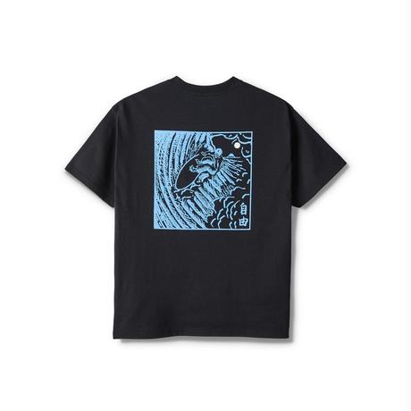 POLAR SKATE CO. / SHIN TEE (BLACK)
