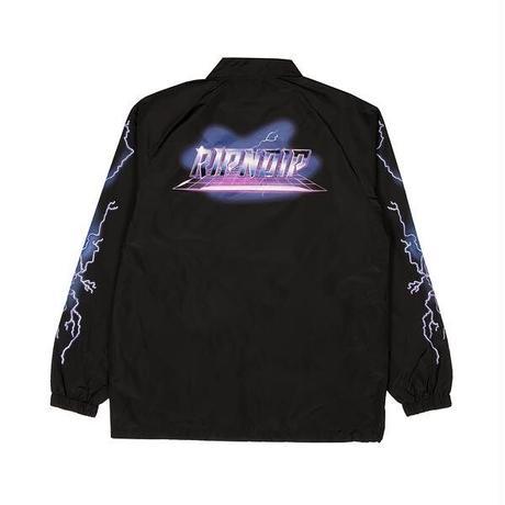 RIPNDIP | Rave Nylon Coaches Jacket (Black)