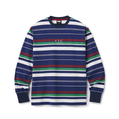 "FTC | STRIPE L/S TOP ""NAVY"" (FTC020AWSH08)"
