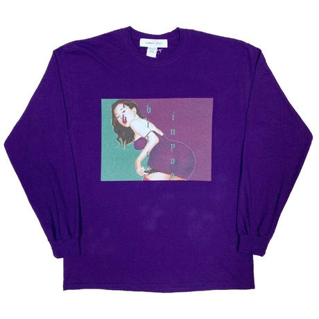 LONELY論理 | #11 SYOUWA BITCH L/S TEE (PURPLE)