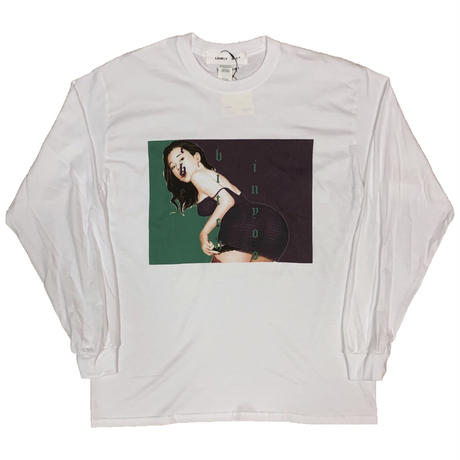 LONELY論理 | #11 SYOUWA BITCH L/S TEE (WHITE)