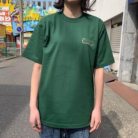 "Oh!theGuilt |  ""THROWUP"" S/S TEE (フォレストグリーン)"