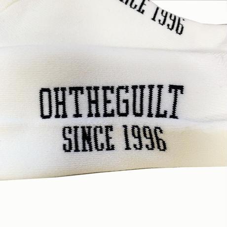 """Oh!theGuilt / """"og"""" SOCKS (WHITE)"""