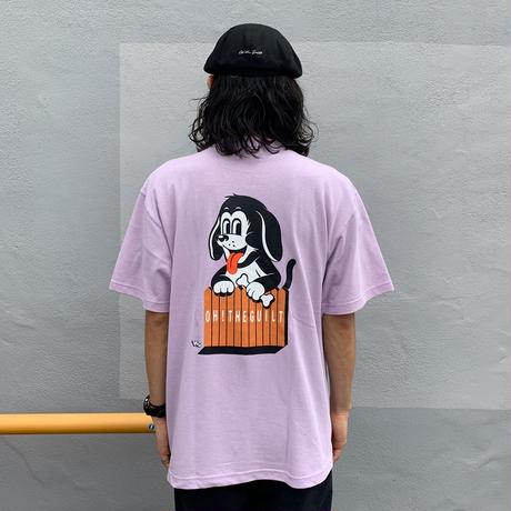 """Oh!theGuilt   W.C Johnny 007 : """"DOGGY"""" S/S T-SHIRT (ライトパープル)"""
