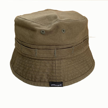 Oh!theGuilt / WASHED JUNGLE HAT (オリーブ)