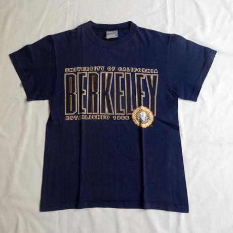 USED (古着)BERKELEY UNIVERSITY Tシャツ(ネイビー)