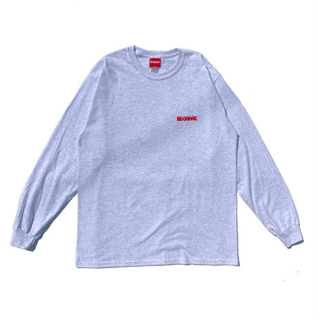 "Oh!theGuilt | THE BE-SHARE LIMITED ""FOR A CITY BOY"" L/S TEE (CITY GREY)"