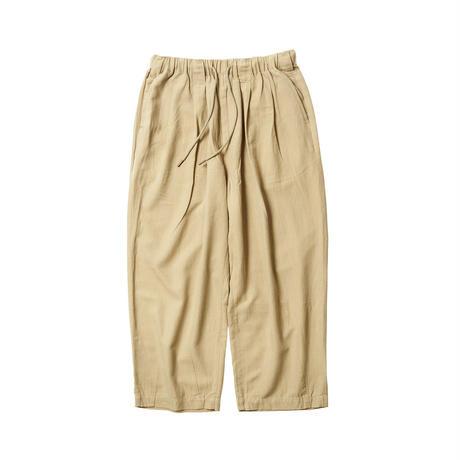 Tightbooth / BAGGY LINEN PANTS (BEIGE)